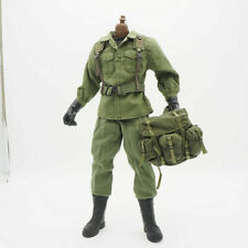 1/6 Scale Uniforms Coveralls Suit Outfits Olive set for 12inch Action Figure
