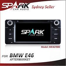 "AD 7"" GPS NAVIGATION DVD IPOD BLUETOOTH RADIO PLAYER FOR BMW E46"