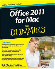 Office 2011 for Mac For Dummies Paperback LeVitus Bob 9780470878699