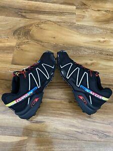 Mens Salomon Speedcross 3  Lightweight Running Shoes Trainers Sneakers Size 7.5