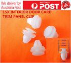 15 X NYLON INTERIOR DOOR CARD AND TRIM PANEL CLIP REPAIR TOYOTA NISSAN HONDA
