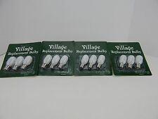 4 Packs Dept 56 Replacement Light Bulbs (12 Bulbs) Village #99244 D56