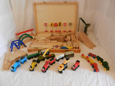 Thomas the Tank Engine & Friends 91 piece Wooden Train Set for hours of fun!
