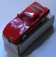 ERTL AMT 1990 Corvette ZR-1 Bright Red Promo Car #6034