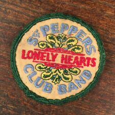 Vintage Patch The Beatles 1960s Sgt Peppers Lonely Hearts Club Band