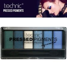 Technic Makeup Pressed Pigments Powder EyeShadow Eye Colour Palette Aqua Marine
