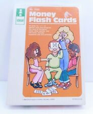 Ideal School Supply Company Money Flash Cards Vintage 1985 Complete