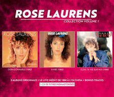 ROSE LAURENS - COLLECTION VOL.1 - 3 ALBUMS + LIVE OLYMPIA - BOX 3 CD NEUF CELLO