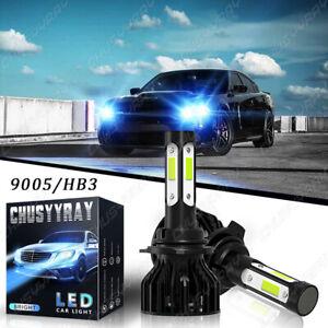 For DODGE Charger 2016-2019 8000K LED Headlight Bulbs 9005 HB3 Kit High Low Beam