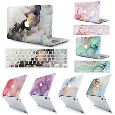 """Marbled Hard Case+ EU/UK Pattern Keyboard Cover  for MacBook Air Pro13"""" 13.3"""" M1"""