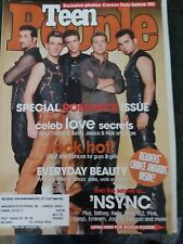 2001 TEEN PEOPLE TIMBERLAKE 'NSYNC SPEARS MOORE ROSWELL CARSON DALY BARRYMORE