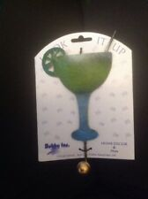 Margarita Glass Dress Coat Clothes Hook Bathroom Towel Hanger Holder