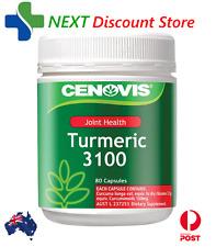 CENOVIS TUMERIC 3100 TUB OF 80 CAPSULES