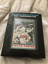 Space Mountain Poster Jumbo Pin 2017 Disney D23 Expo Exclusive 40 Years LE 500