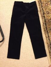 "NWT Boys ""Polo Ralph Lauren"" Thick Corduroy Pants Dark Blue Size 14"