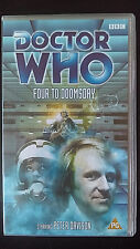 DOCTOR WHO BBC Video FOUR TO DOOMSDAY Video VHS Tape PETER DAVISON 5th Doctor