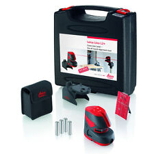 LEICA Lino L2+ Plus Self Levelling Cross Line Laser Level, Mounting Clamp & Case