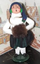 Byers Choice Caroler Girl with Hand Muff 1989 *