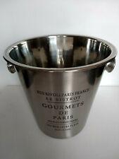 Seau a champagne Gourmet de Paris, neuf ,en métal