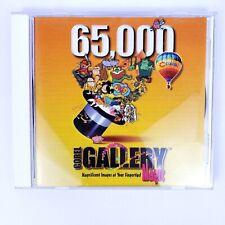 Corel Gallery Magic 65,000 Disc 1 & 2 Vintage 1997 Win 3.1 Win 95 CDROM Software