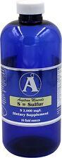Sulfur 16oz. - Liquid Mineral
