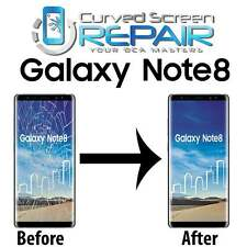 Samsung Galaxy Note 8 Cracked Screen Repair GlassMail In Service