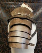 More details for samurai battle knight pauldron medieval shoulder armor cosplay costume gladiator