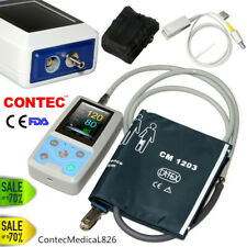 24 Hours Ambulatory Blood Pressure Monitor SPO2+NIBP+PR+Software Patient Monitor