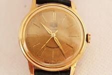 orologio GLASHUTTE manuale placcato oro 20 micron e acciaio anni '70 ref. 1093 1