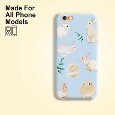 Rabbit Bunny Phone Case cover iPhone 11 pro max X 7 Plus Galaxy S10 S9 Note 10