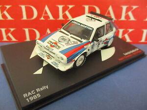 Die cast 1/43 Modellino Auto Lancia Delta S4 Martini Rally RAC 1985 H. Toivonen