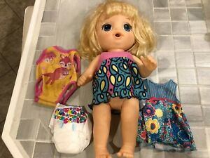 Baby Alive Doll Baby Blonde Talking Doll