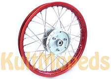 Raggi Ruota Cerchione Rosso Paspas F Simson S51 S50 S70 KR51 Schwalbe S53 Star