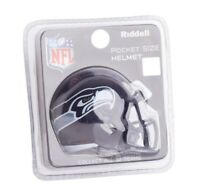 Seattle Seahawks NFL Helmet Riddell Pocket Pro Speed Style