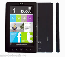 "Libro Electronico Billow E2TB Color Reader eBook y Reproductor MP4 LCD 7"" 2GB"