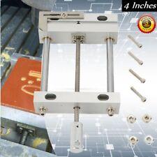 "4"" Precision Vise Mini Woodworking Fixture Engraving Machine Flat Nose Pliers"