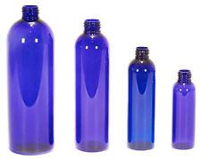 10 pack  4 Oz Plastic Blue PET Bottles  BPA free