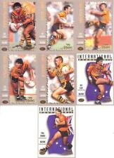 1994 Dynamic Rugby League Ser 3 ('Masters) - Balmain Tigers Team Set of 7 Cards