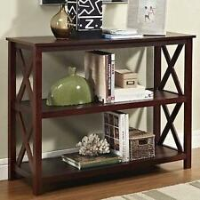 Entry Hall Furniture wood hallway table bookshelf entry console end sofa accent modern