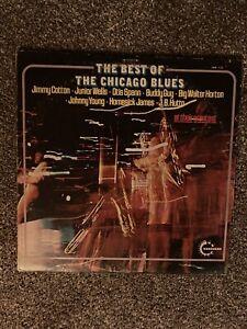 The Best Of The Chicago Blues - 2x Vinyl LP - EX/VG.  Cotton, Wells, Spann, Guy,