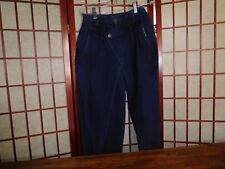 34dffd793ac High Waisted Jeans Rocky Mountain Sz 9 Flap Over Front Dark Wash Vintage