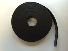 SOLID RUBBER STRIP - Self Adhesive 35mm x 3mm general purpose seal - 10m Roll