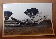 WW2 Aircrash photograph Hawker Audax India 1941 original photo 6x4 inch photo 3