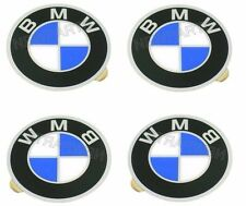 BMW E12 E23 E24 BAV Wheel Center Cap Emblems Set of 4 BRAND NEW GENUINE 57 mm