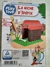 """Astérix LIDL """" la niche d'Idéfix"""" """" 45 pces🛑 extensible avec d'autres modules"""