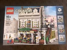NEW SEALED LEGO 10243 Creator Expert Parisian Restaurant FREE SHIPPING