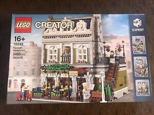 NEW SEALED LEGO 10243 Creator Expert Parisian Restaurant FREE SHIPPING
