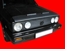 CUSTOM CAR HOOD BRA VW Golf 1 Cabriolet Convertible MK1 77-83 NOSE FRONT MASK