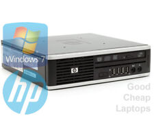 HP Compaq Elite 8000 ultra slim desktop di Windows 7 PC Pentium 4GB DDR3 250GB HDD