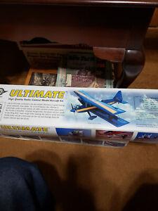 R/C Ultimate Biplane kit by Ace,Simple Series NIB